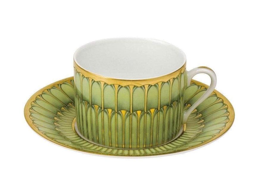 Deshoulieres Deshoulieres Arcades Tea Cup Grey and Matte Gold 30540