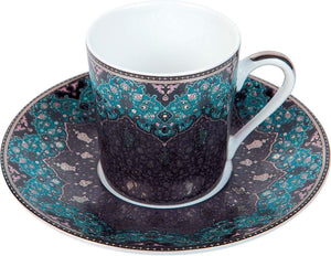 Deshoulieres Dhara Peacock Coffee Cup TC-RI3189