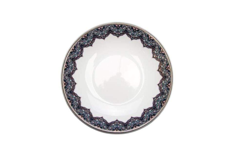 Deshoulieres Deshoulieres Dhara Peacock Soup / Cereal Plate AC-JR3189