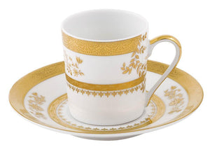 Deshoulieres White Orsay Coffee Cup TC-RI6287