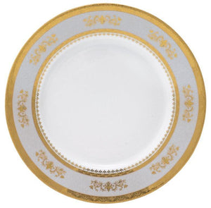 Deshoulieres Powder Blue Orsay Dinner Plate AP-RI6289