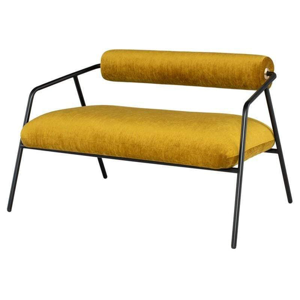 District Eight District Eight Cyrus Double Seat Sofa - Gold HGDA745