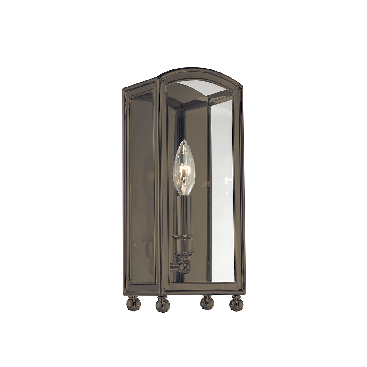 Hudson Valley Lighting Hudson Valley Lighting Millbrook Sconce - Distressed Bronze & Clear 8401-DB