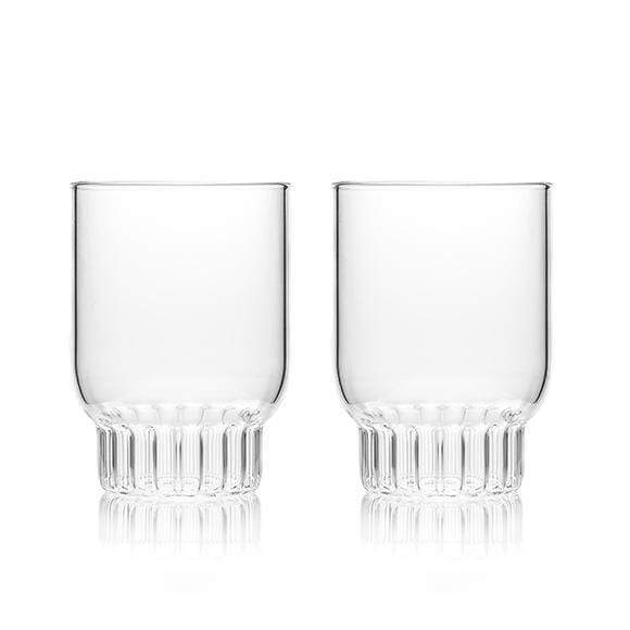 Fferrone Fferrone Rasori Medium Glass - Set Of 2