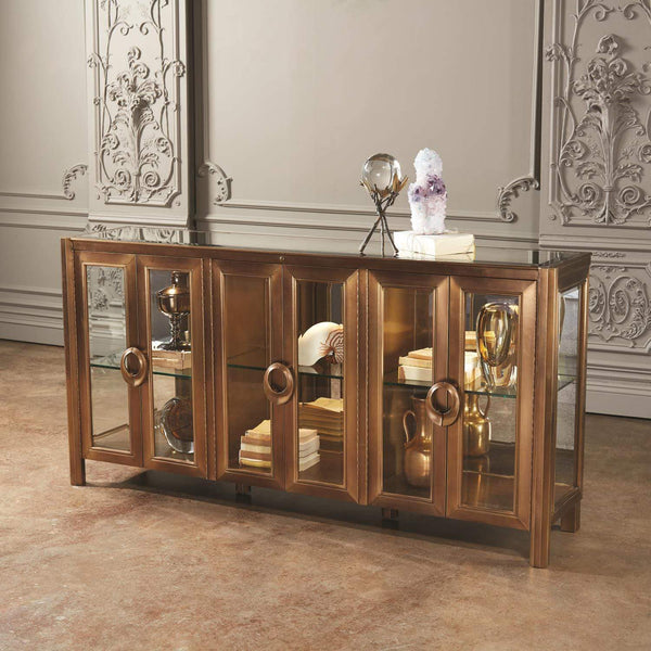 Global Views Apothecary Console Cabinet 2576