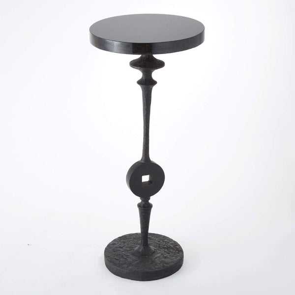 Global Views Artisan Square Peg Accent Table 8.81015