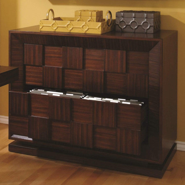 Global Views Block Lateral File Cabinet 2340