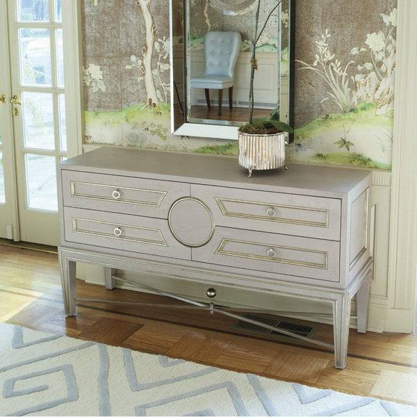 Global Views Collector's Cabinet Console Gray 2451