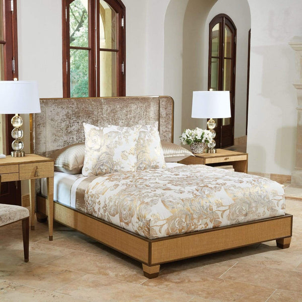 Global Views Global Views D'Oro King Bed Frame AG2.20000