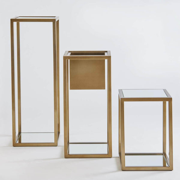 Global Views Escher Brass Planter - 3 Available Sizes