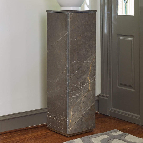 Global Views Graffito Marble Pedestal 9.92865