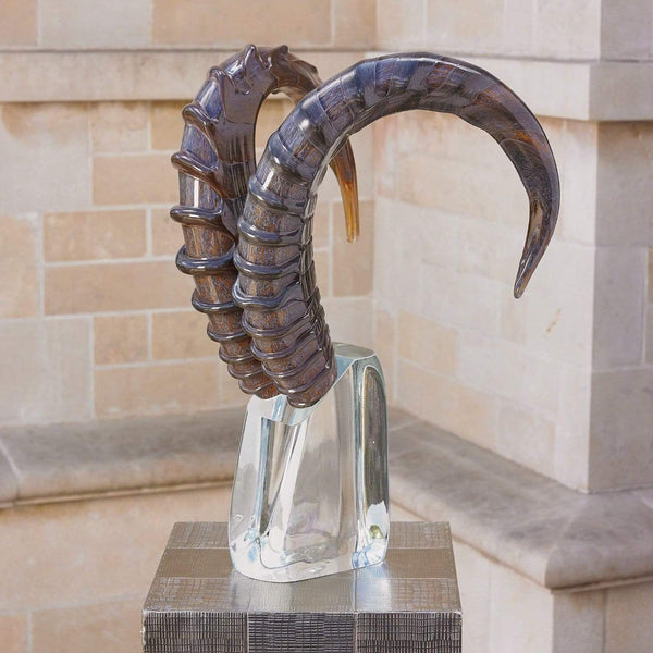 Global Views Kudu Head Sculpture 7.60083