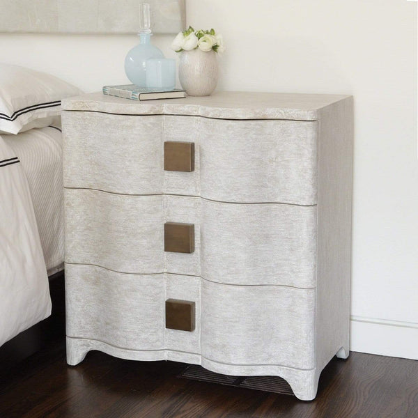 Global Views Global Views Toile Linen Bedside Chest 7.20053