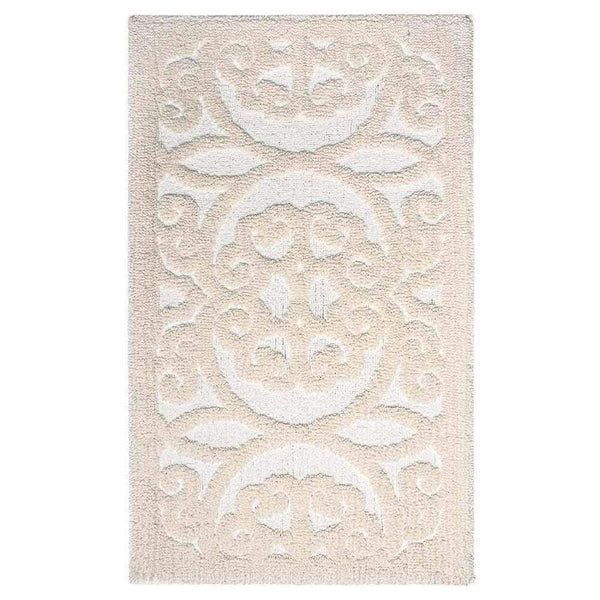 Graccioza Graccioza Versailles Bath Rug - Beige - Available in 2 Sizes