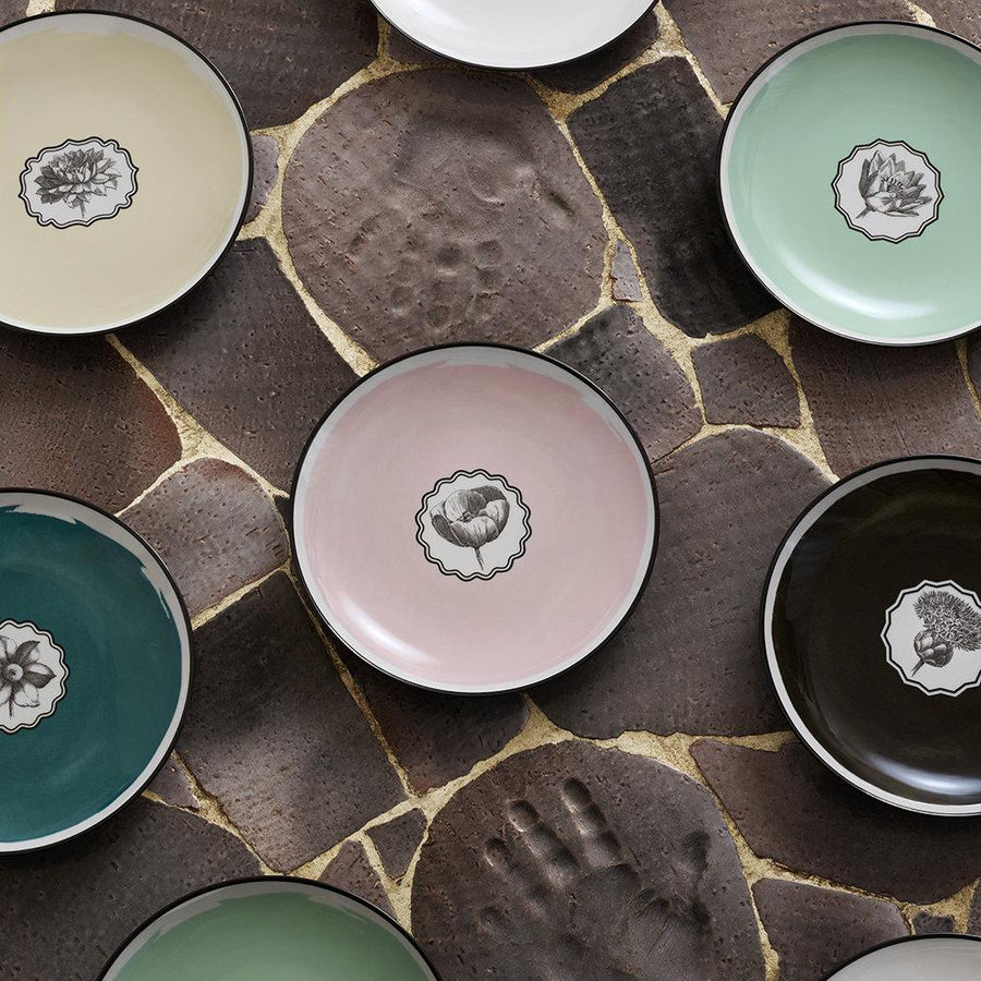 Christian Lacroix Herbariae Dessert Plate - 6 Available Colors