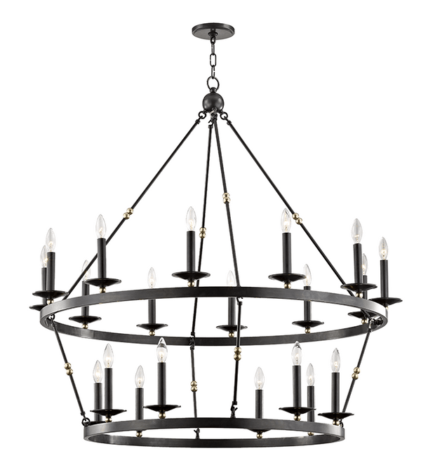 Hudson Valley Lighting Hudson Valley Lighting Allendale 20-Bulb Chandelier - Aged Old Bronze 3247-AOB