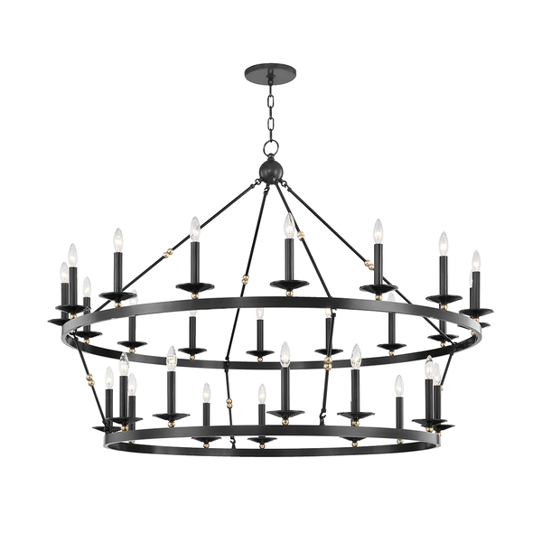 Hudson Valley Lighting Hudson Valley Lighting Allendale 28-Bulb Chandelier - Aged Old Bronze 3228-AOB