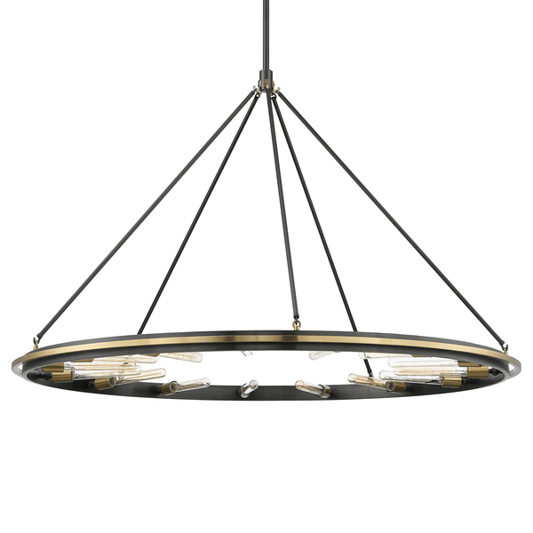 Hudson Valley Lighting Hudson Valley Lighting Chambers 15-Bulb Pendant - Aged Old Bronze 2758-AOB