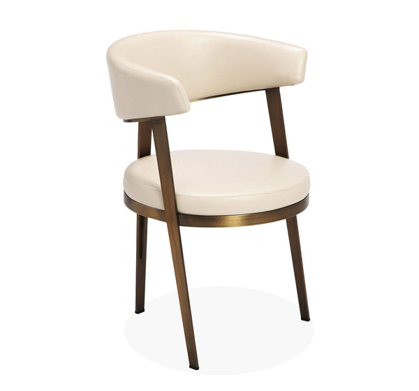 Interlude Home Ivory Adele Dining Chair - 2 Available Colors 148018