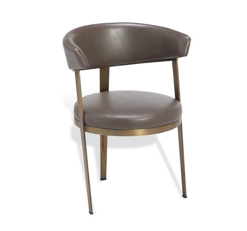 Interlude Home Adele Dining Chair - 2 Available Colors - Gray