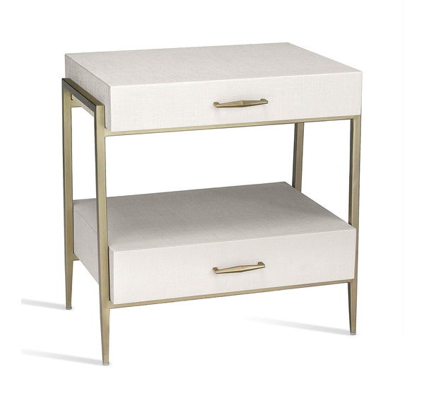 Interlude Home Allegra Bedside Chest 125174