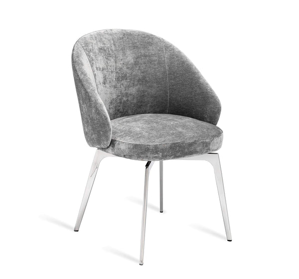 Interlude Home Amara Dining Chair in Grey 148134