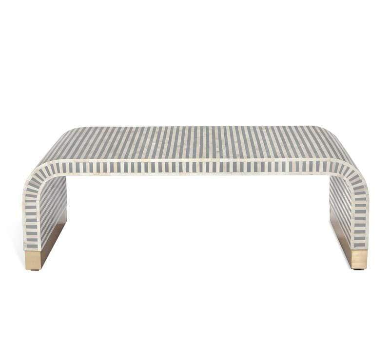 Interlude Home Beacon Cocktail Table - Grey 118119