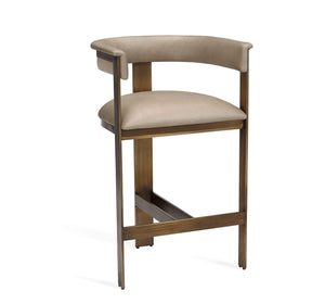 Interlude Home Darcy Counter Stool in Taupe 145199