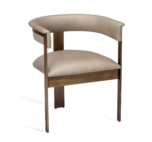 Interlude Home Darcy Dining Chair in Taupe 145195