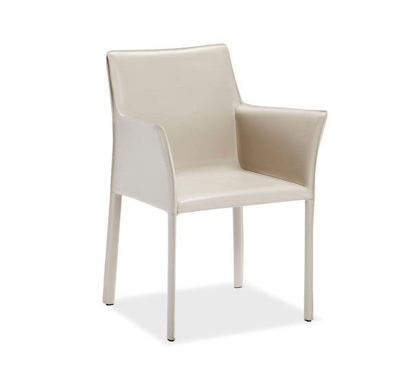 Interlude Home Jada Arm Chair in Sand 145120