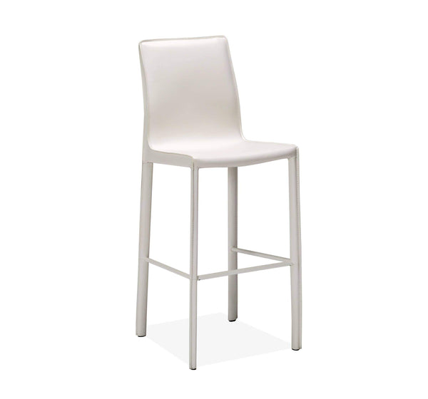 Interlude Home Jada Barstool in White 148095