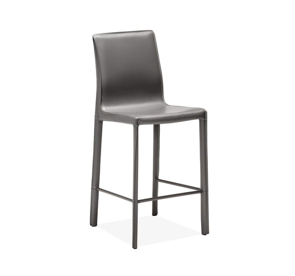 Interlude Home Jada Counter Stool in Grey 148096