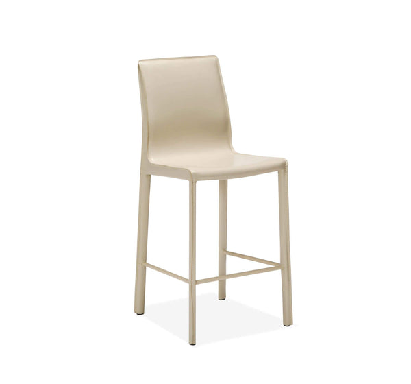 Interlude Home Jada Counter Stool in Sand 148097
