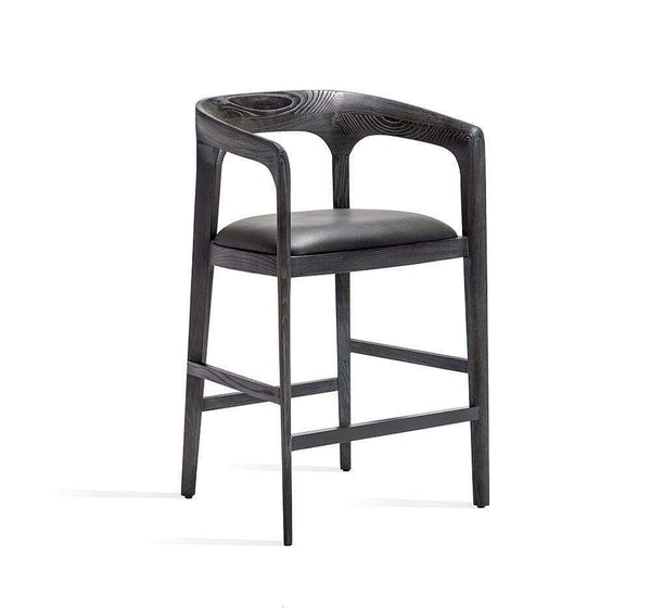 Interlude Home Kendra Counter Stool in Grey 145139