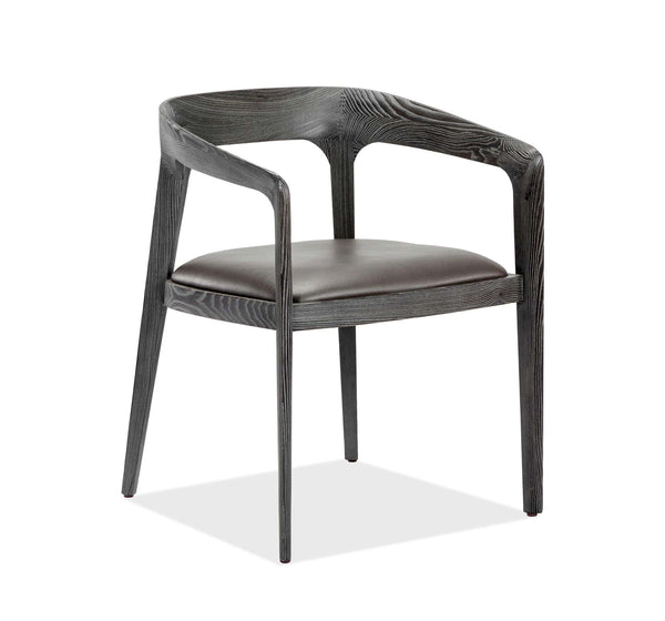 Interlude Home Kendra Dining Chair in Grey 145169