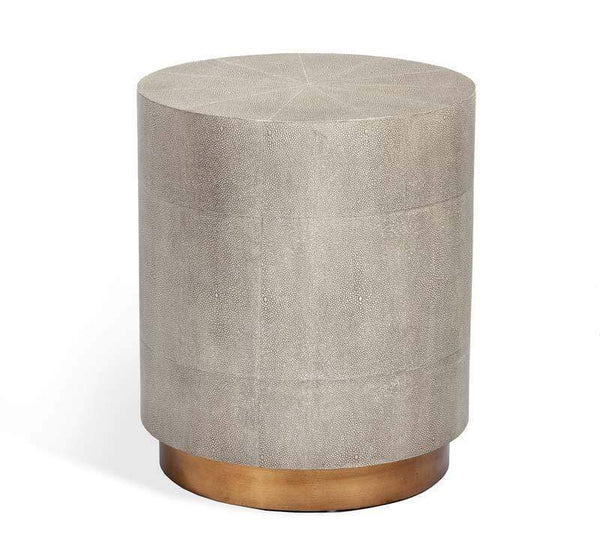 Interlude Home Kenzo Small Drum Table 155182