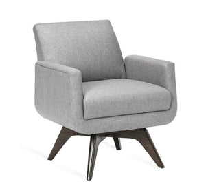 Interlude Home Landon Chair in Grey 198012-6