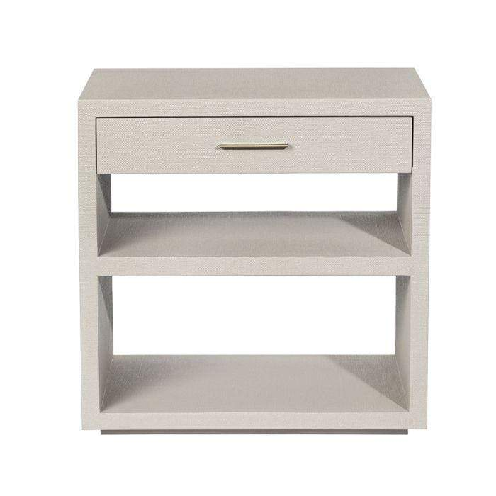 Interlude Home Livia Bedside Chest in Sand 188101