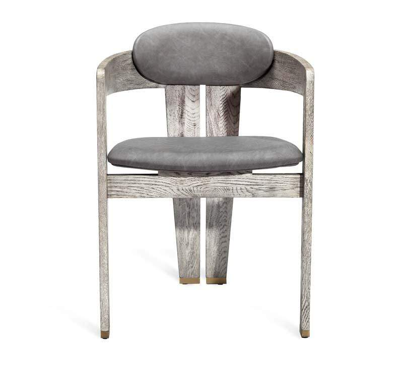 Interlude Home Interlude Home Maryl Dining Chair - Light Grey 149100