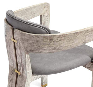 Interlude Home Maryl Dining Chair - Light Grey 149100