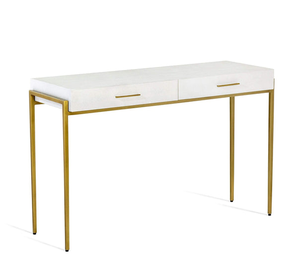 Interlude Home Interlude Home Morand Console/ Desk in Bone 188046
