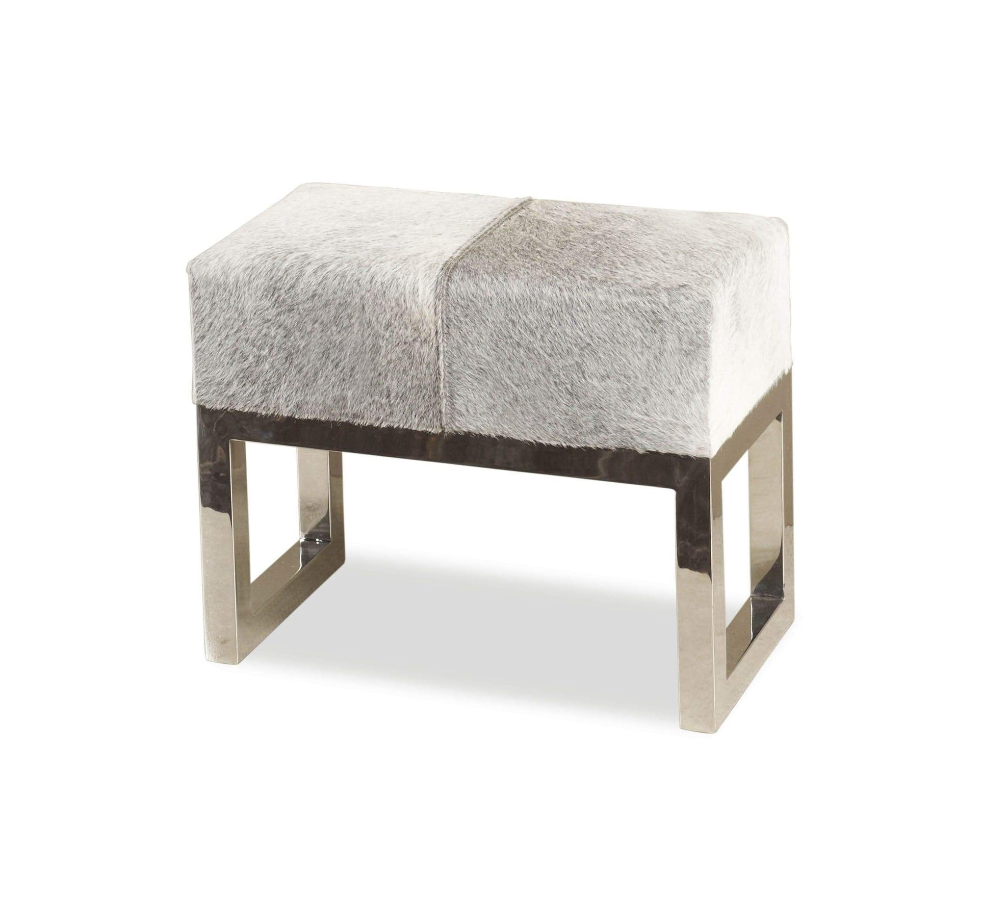 Interlude Home Interlude Home Moro Hide Stool 145035