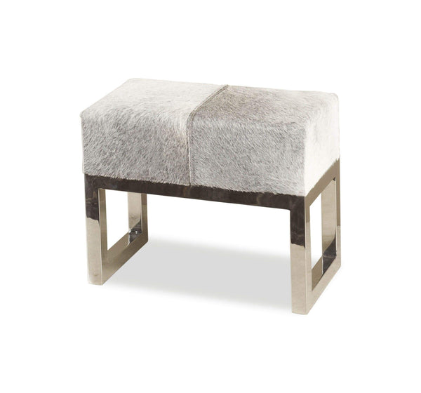 Interlude Home Moro Hide Stool 145035