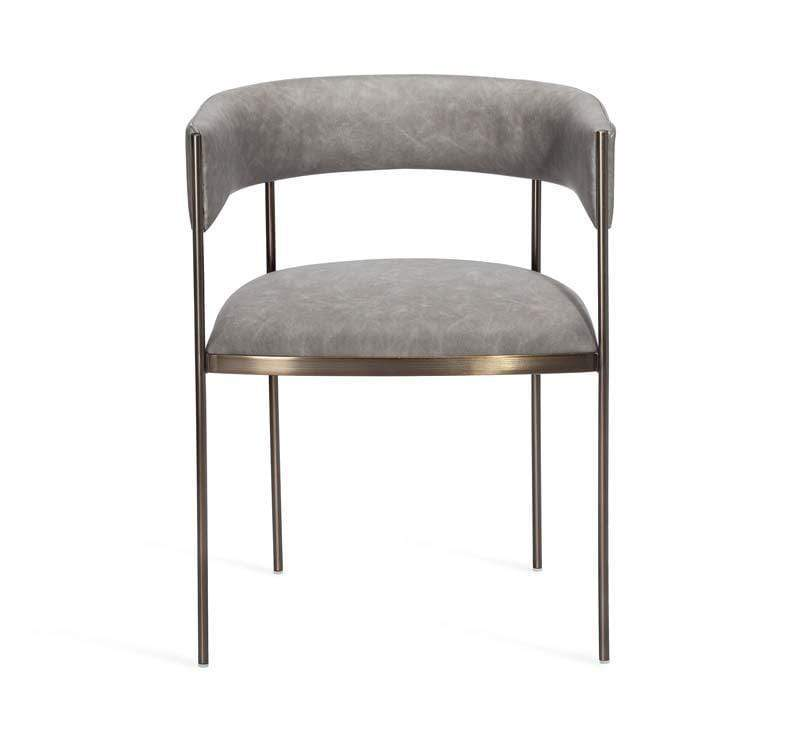 Interlude Home Ryland Dining Chair - Charcoal 155131