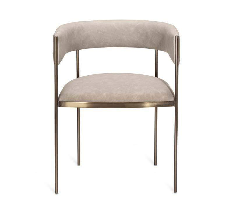 Interlude Home Interlude Home Ryland Dining Chair - Taupe 155132