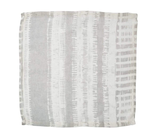 Kim Seybert Bazaar Napkin in Ivory & Gray - Set of 4 NA1170456IVYGY