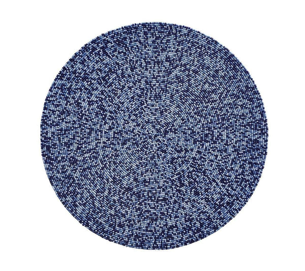 Kim Seybert Confetti Placemat In Navy - Set of 4 PM1170504NAVY