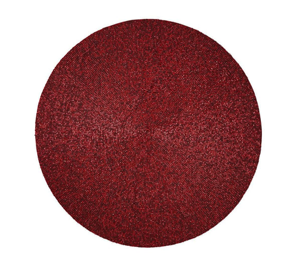Kim Seybert Kim Seybert Confetti Placemat in Red - Set Of 4 PM1170504RED