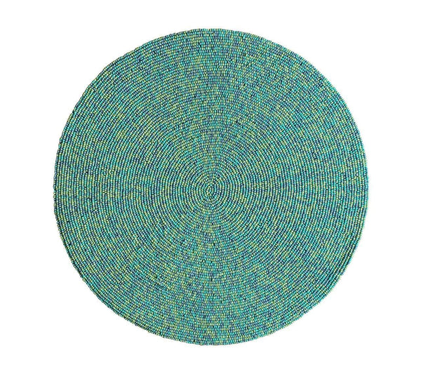 Kim Seybert Kim Seybert Confetti Placemat In Turquoise - Set Of 4 PM1170504TQ