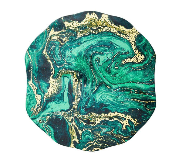 Kim Seybert Cosmos Placemat in Emerald - Set of 4 PM2170611EMER